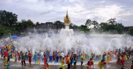 疯狂泼水节,泰国购物用微信支付返现红包拿不